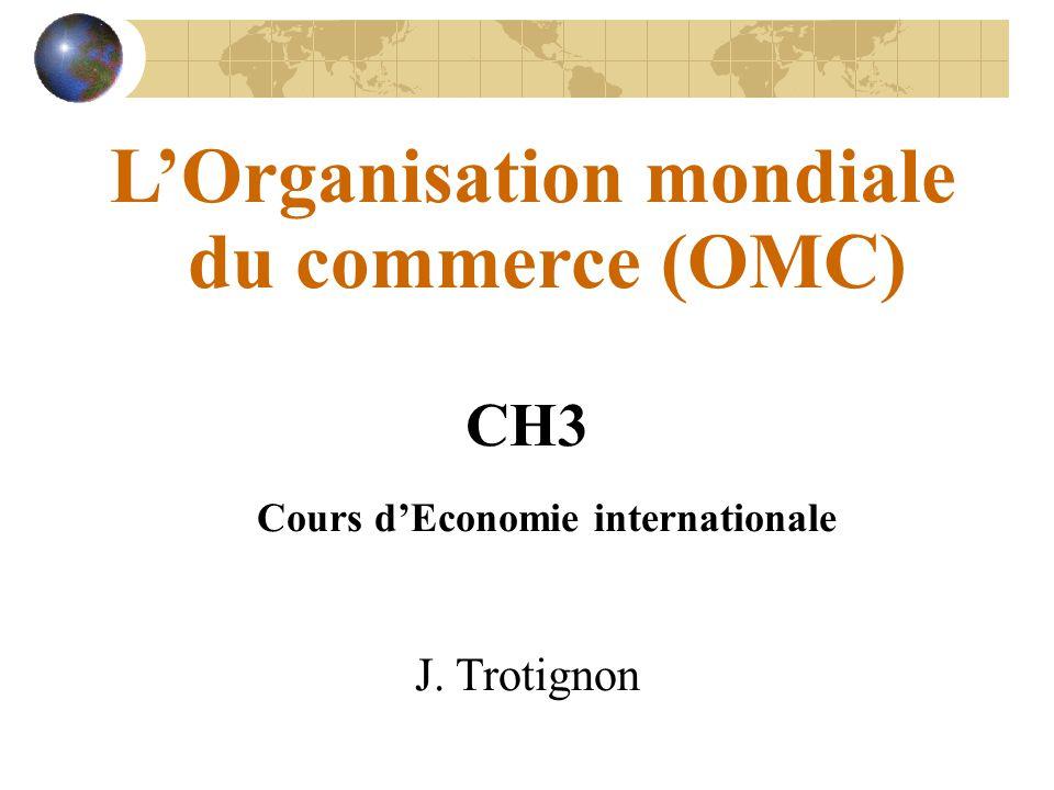 CH3 Cours d'Economie internationale