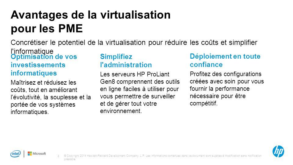 Avantages de la virtualisation pour les PME