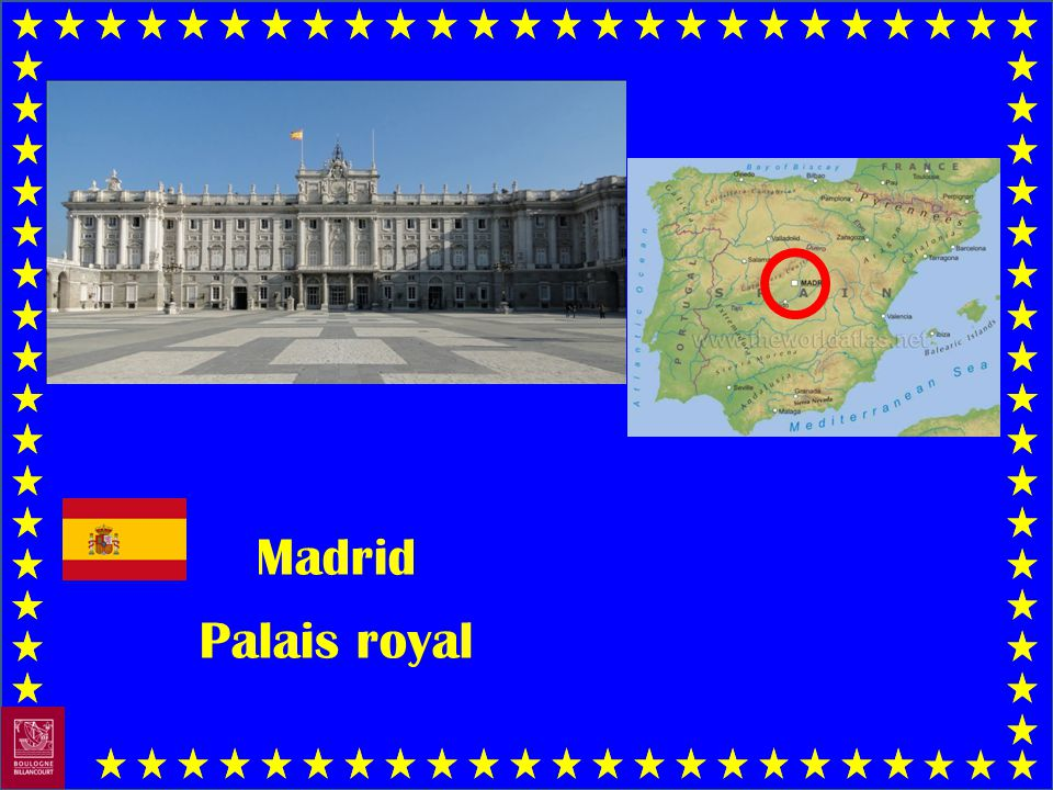Madrid Palais royal