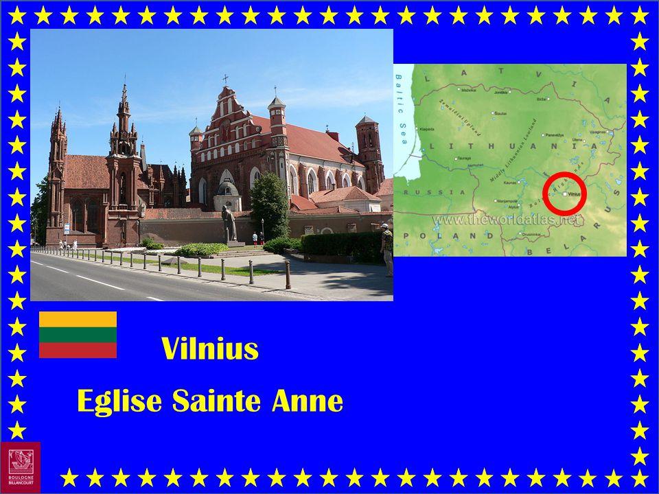 Vilnius Eglise Sainte Anne