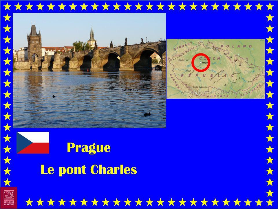 Prague Le pont Charles