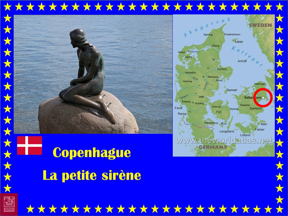 Copenhague La petite sirène