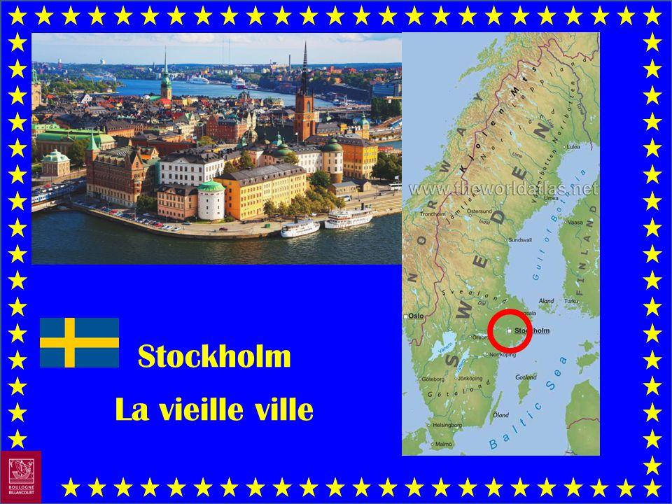 Stockholm La vieille ville