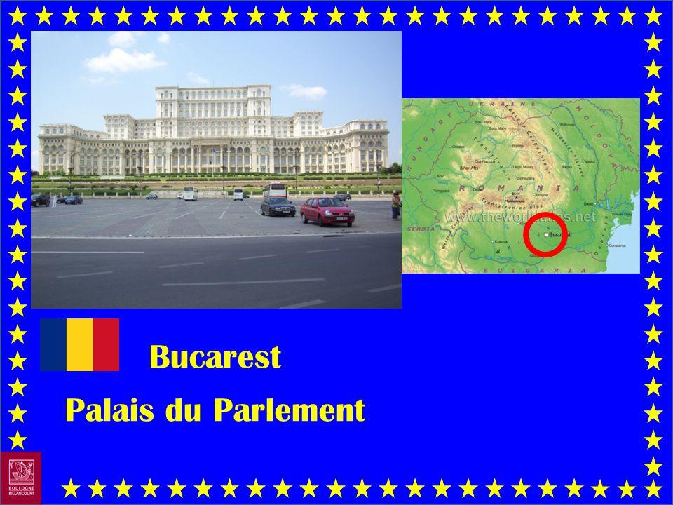 Bucarest Palais du Parlement