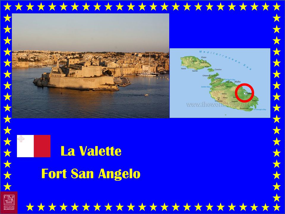 La Valette Fort San Angelo