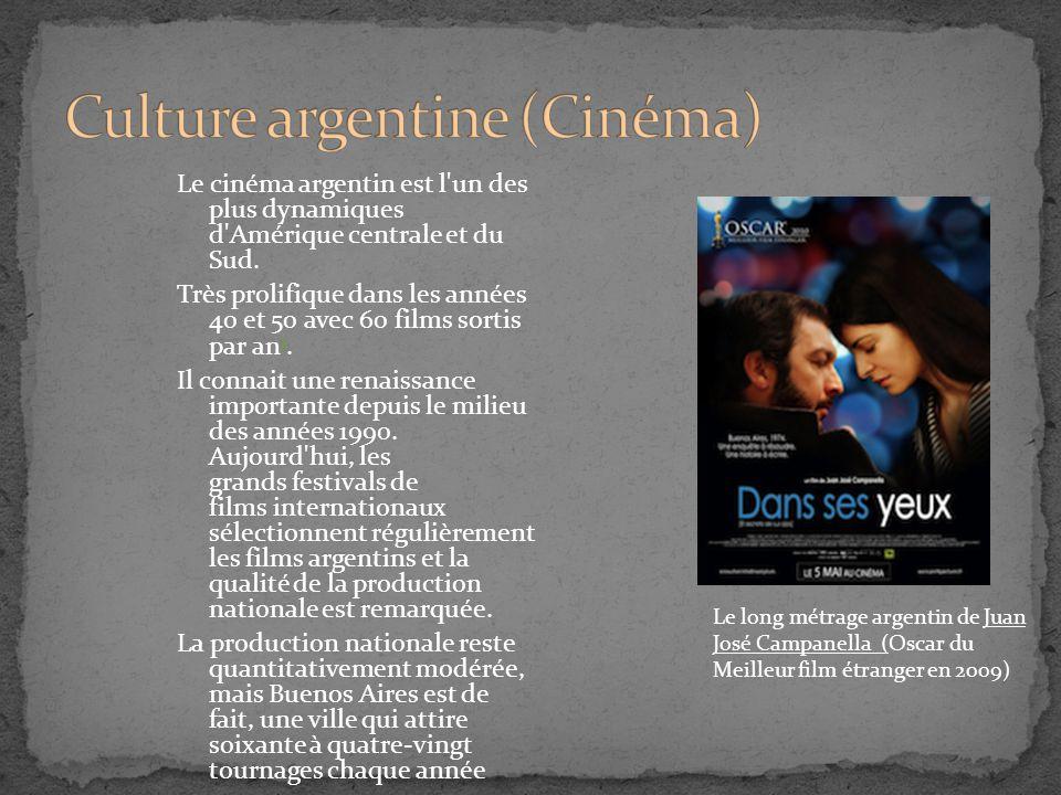 Culture argentine (Cinéma)