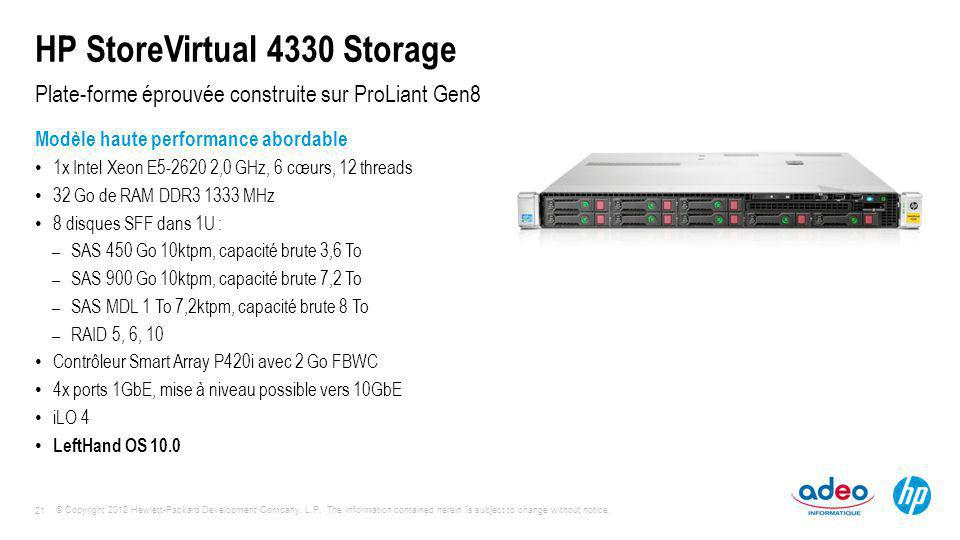 HP StoreVirtual 4330 Storage
