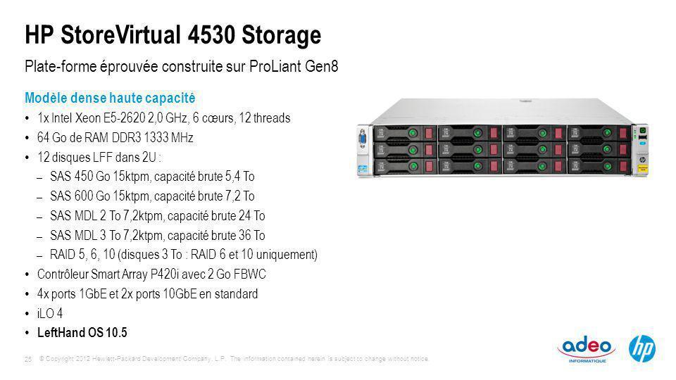 HP StoreVirtual 4530 Storage