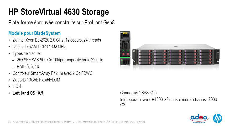 HP StoreVirtual 4630 Storage