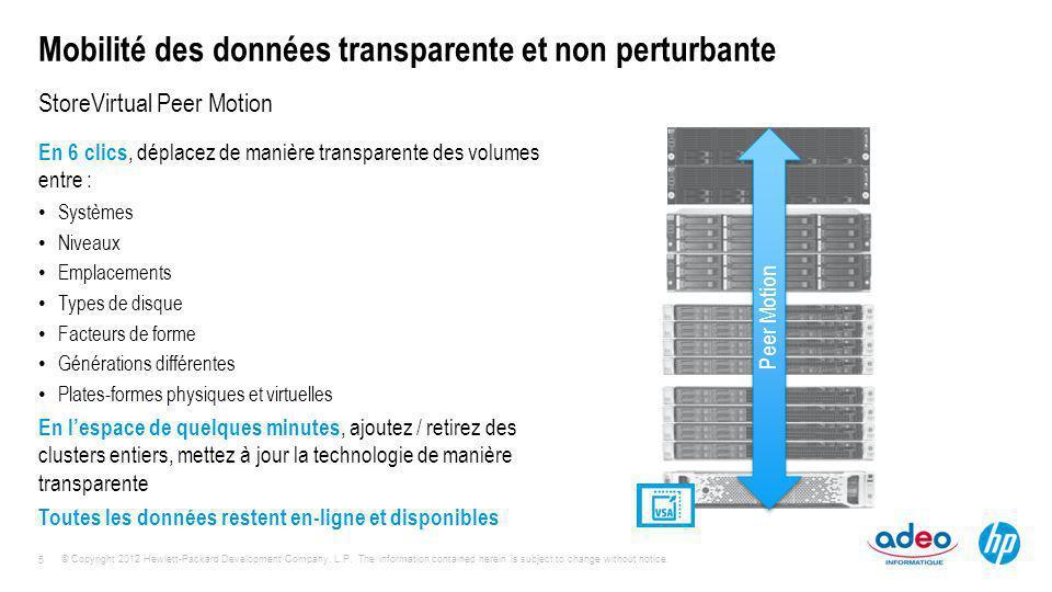 Mobilité des données transparente et non perturbante