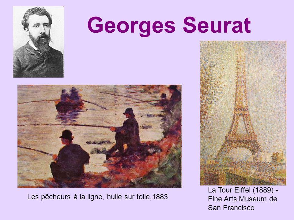 Georges Seurat La Tour Eiffel (1889) - Fine Arts Museum de San Francisco.