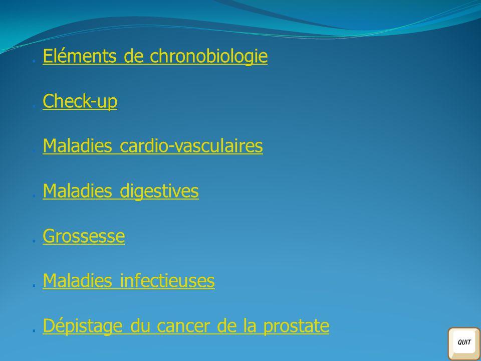 . Eléments de chronobiologie