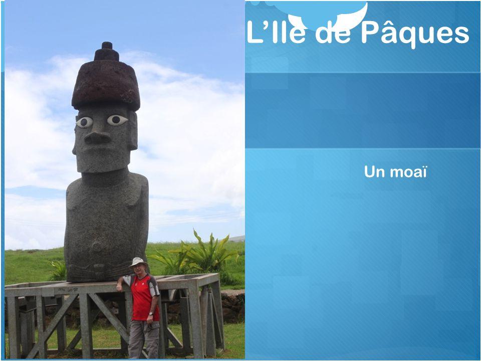 L'Ile de Pâques Un moaï