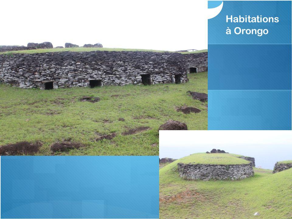Habitations à Orongo