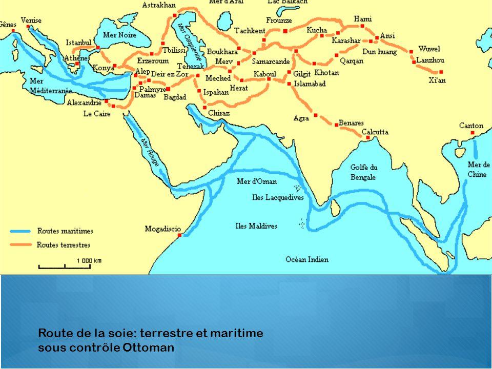 Route de la soie: terrestre et maritime