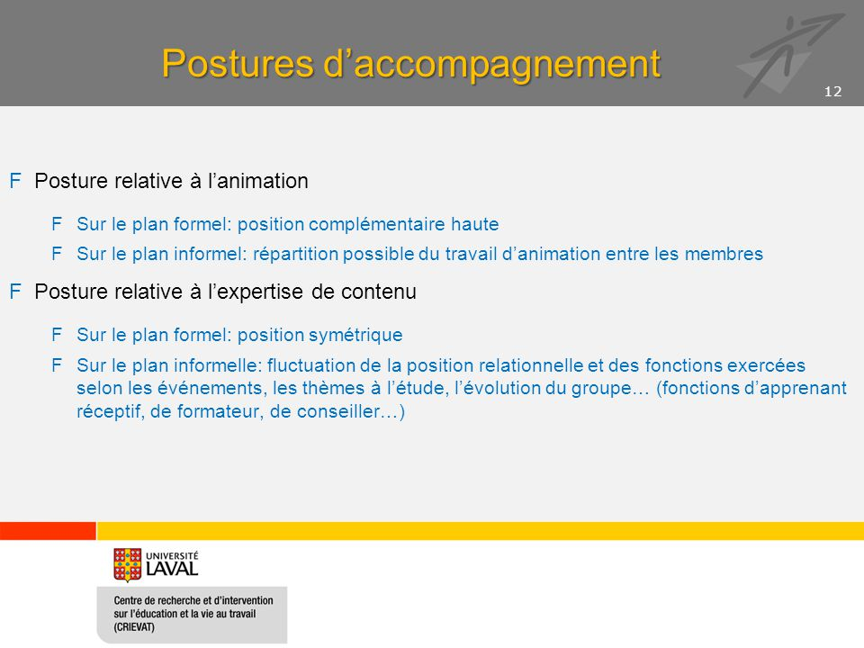 Postures d'accompagnement