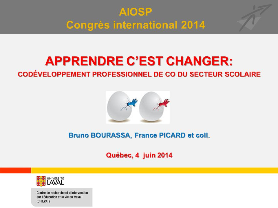 AIOSP Congrès international 2014