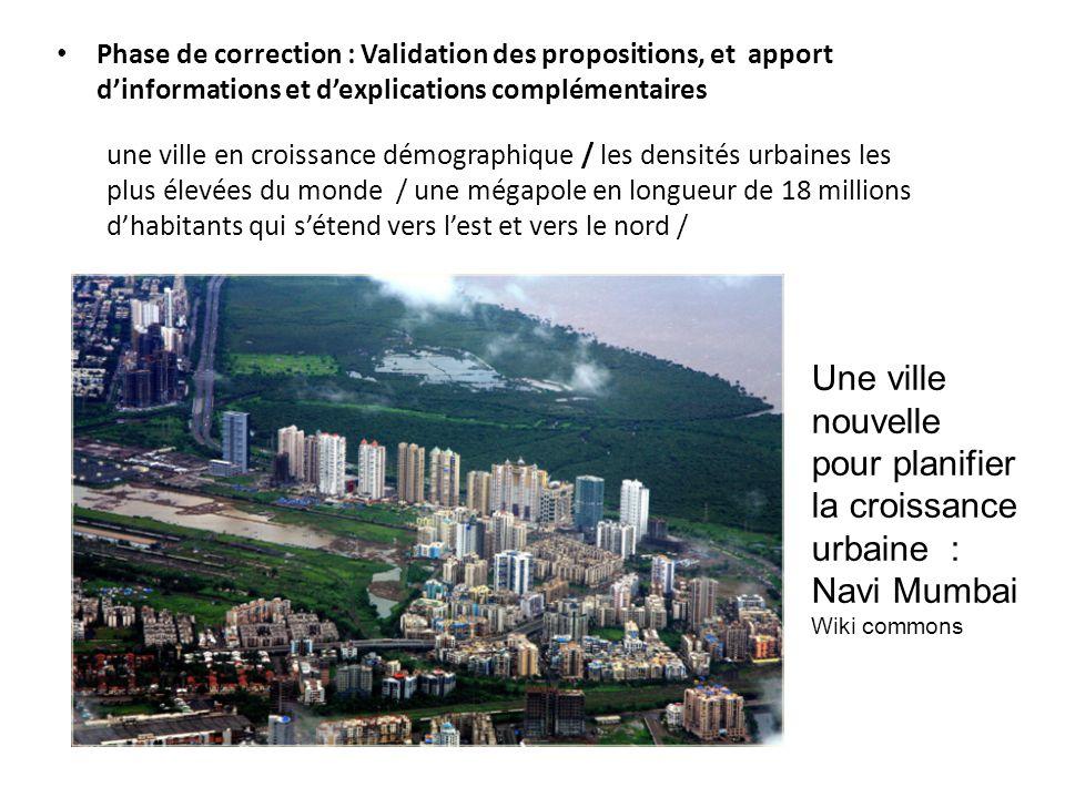 Une ville nouvelle pour planifier la croissance urbaine : Navi Mumbai