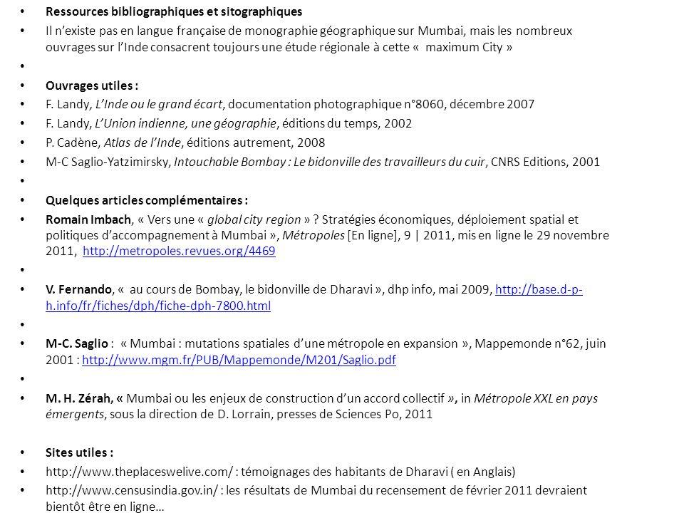 Ressources bibliographiques et sitographiques