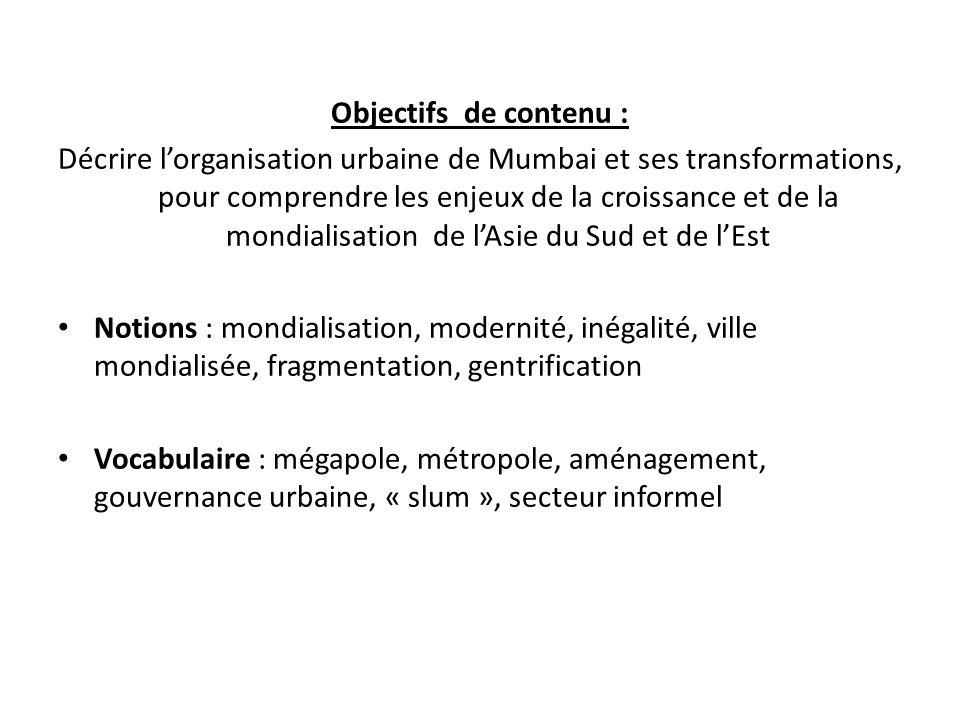 Objectifs de contenu :