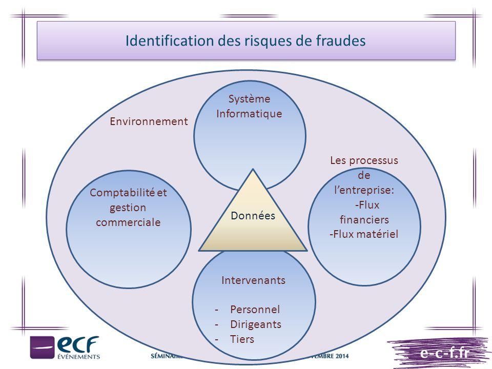 Identification des risques de fraudes