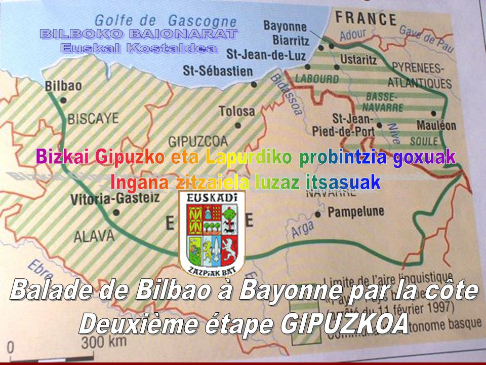 Balade de Bilbao à Bayonne par la côte Deuxième étape GIPUZKOA