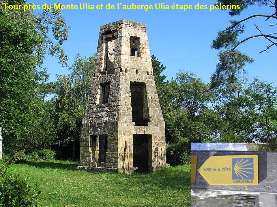 Tour près du Monte Ulia et de l'auberge Ulia étape des pèlerins