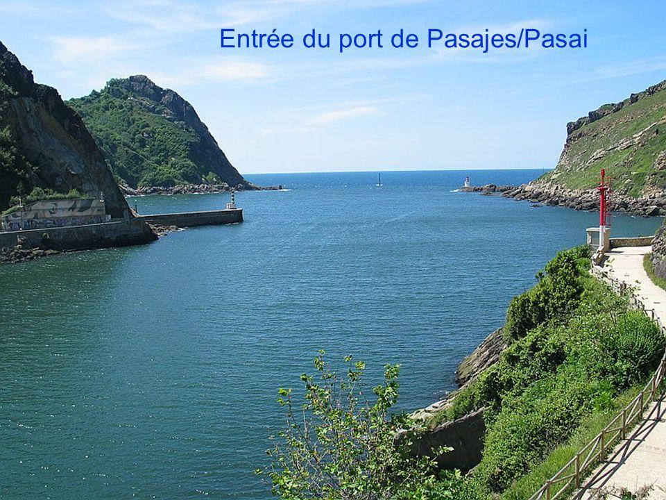 Entrée du port de Pasajes/Pasai