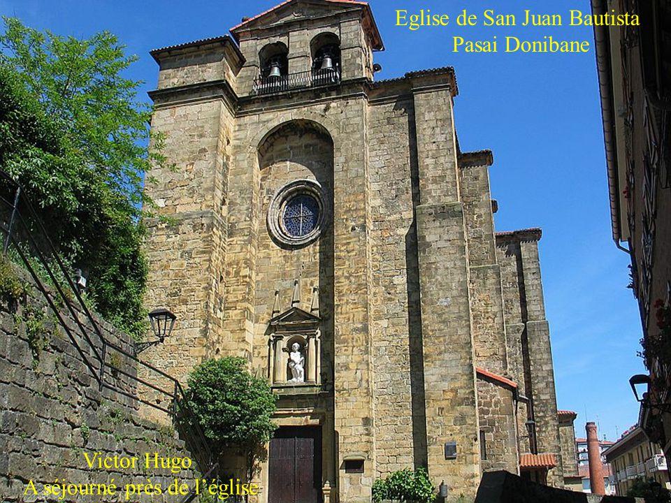 Eglise de San Juan Bautista Pasai Donibane
