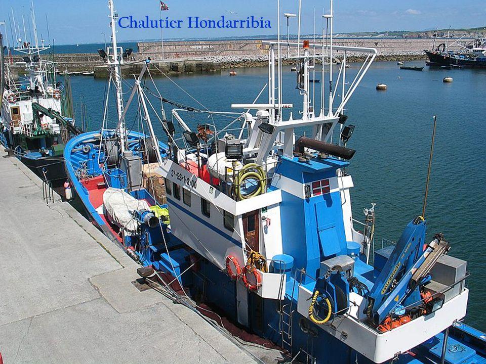 Chalutier Hondarribia