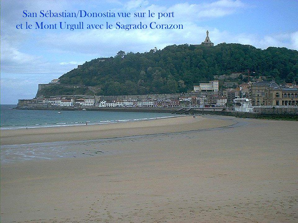San Sébastian/Donostia vue sur le port