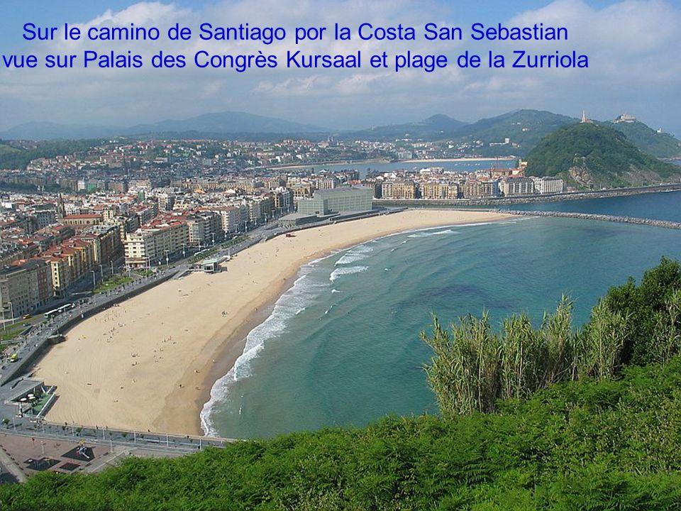 Sur le camino de Santiago por la Costa San Sebastian