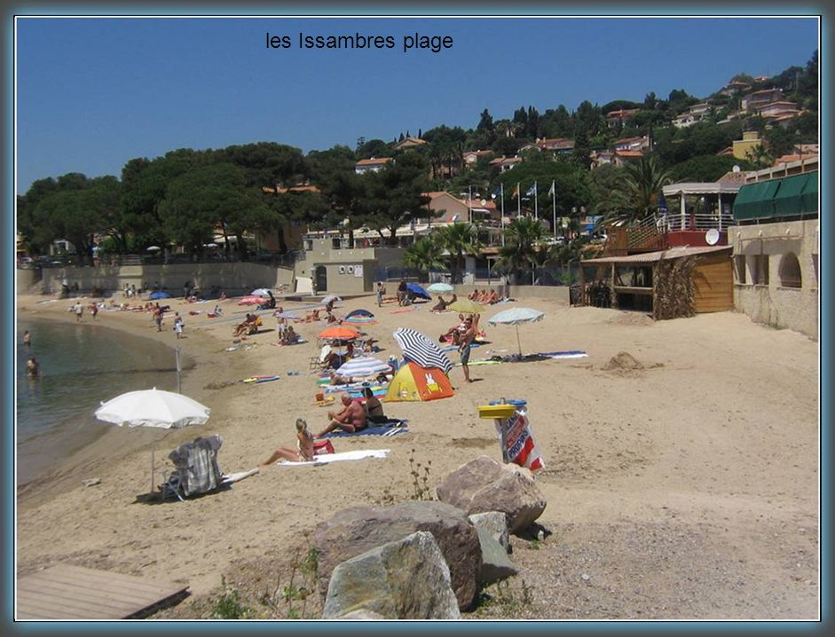les Issambres plage