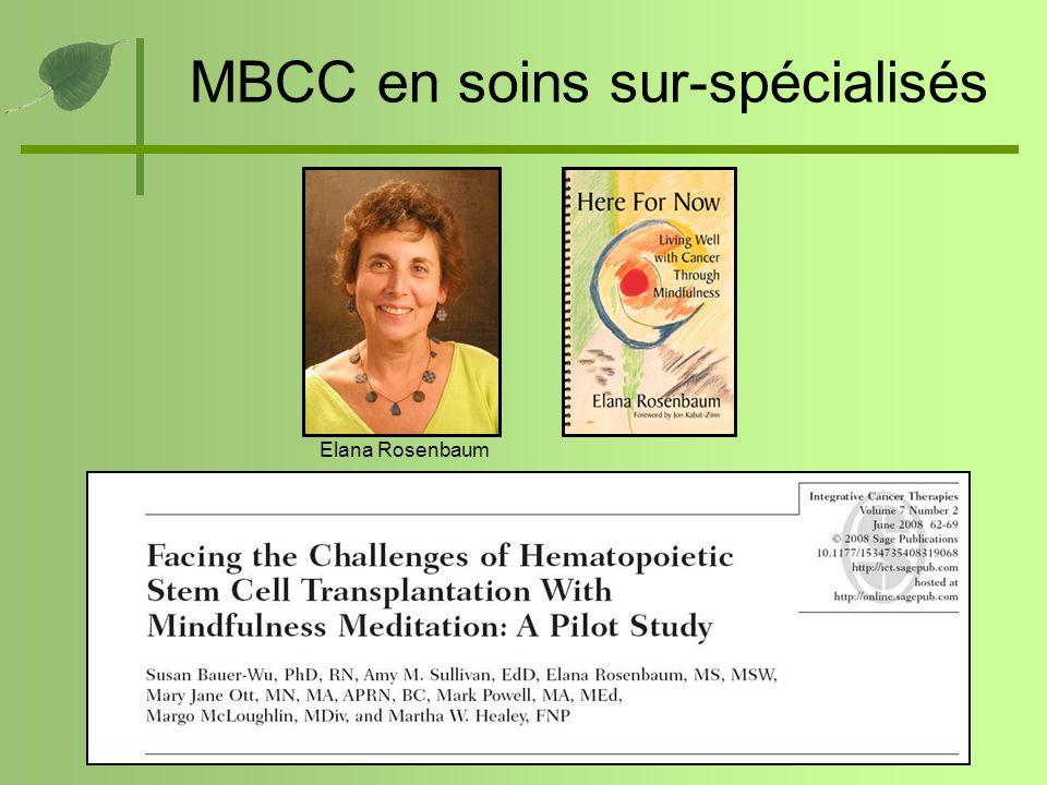MBCC en soins sur-spécialisés