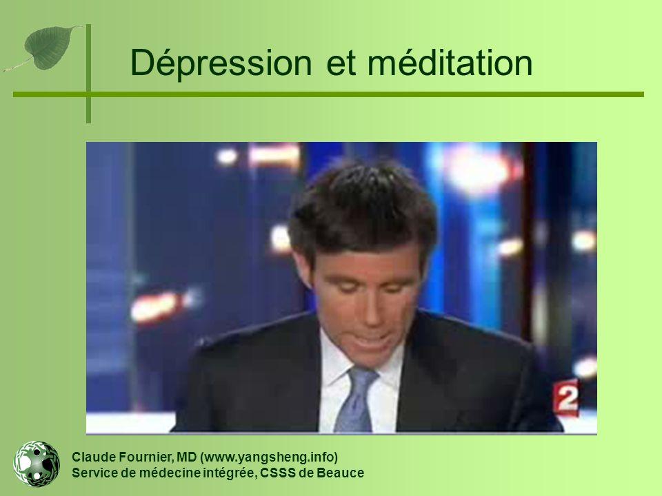 Dépression et méditation