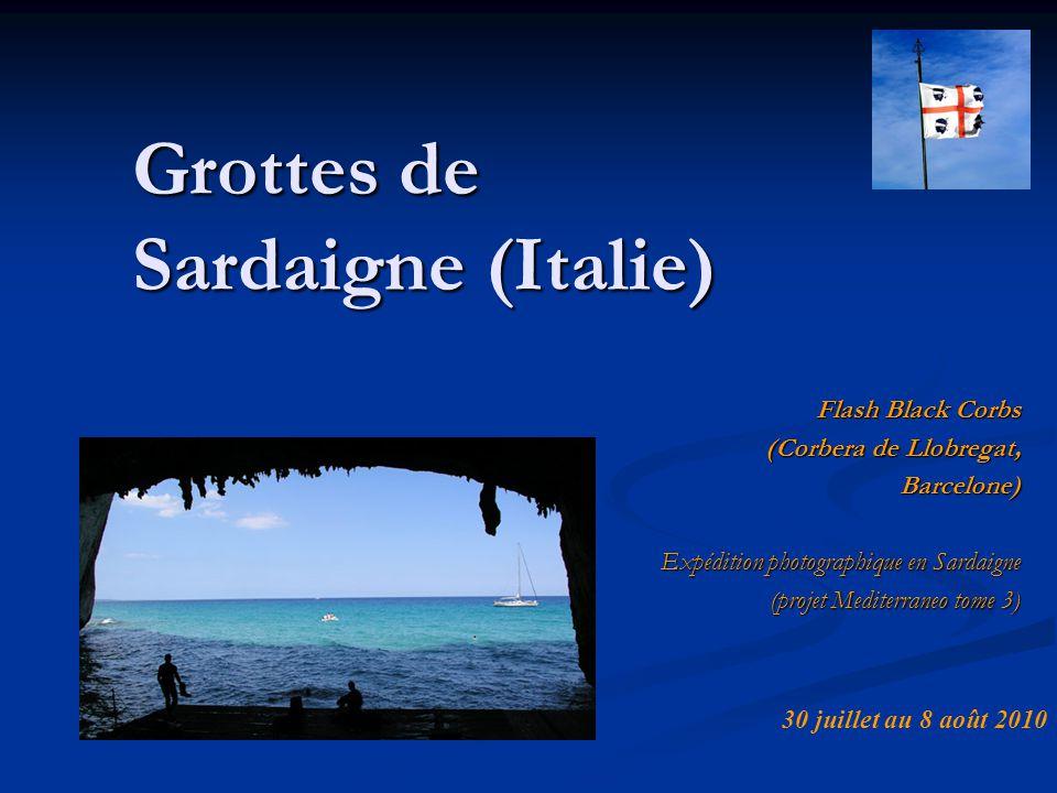 Grottes de Sardaigne (Italie)