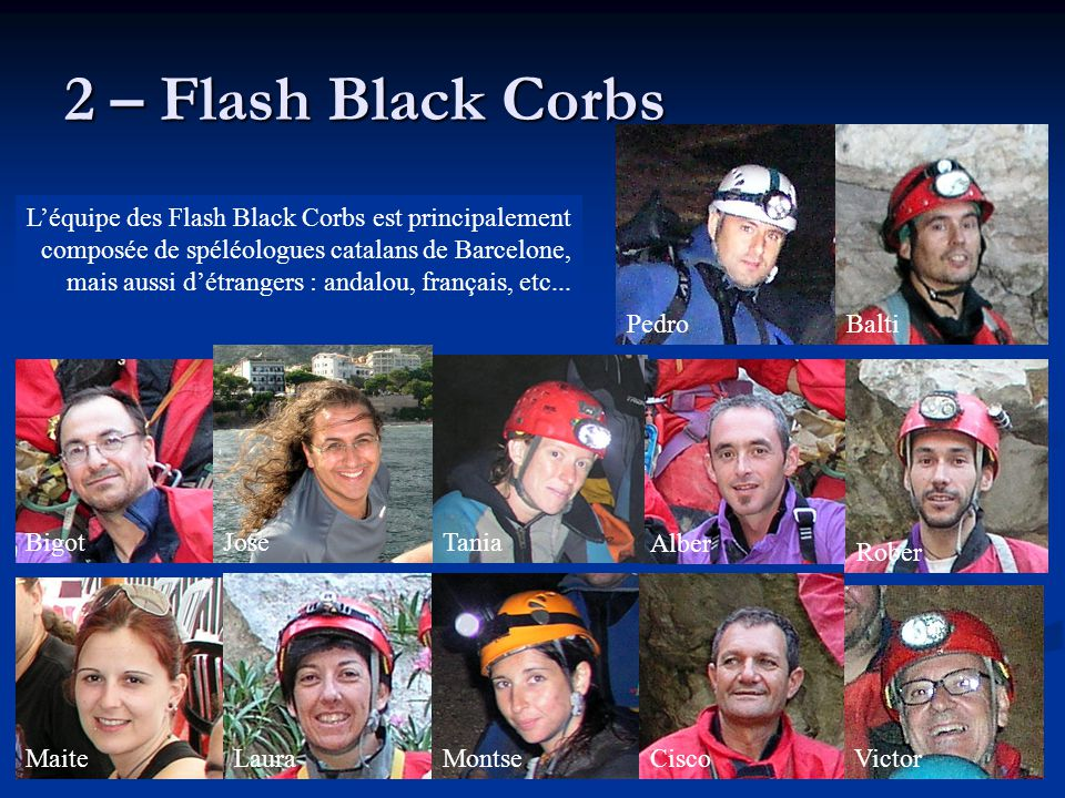 2 – Flash Black Corbs