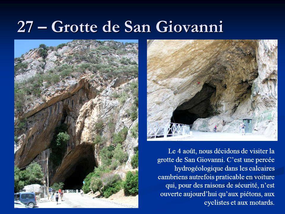 27 – Grotte de San Giovanni