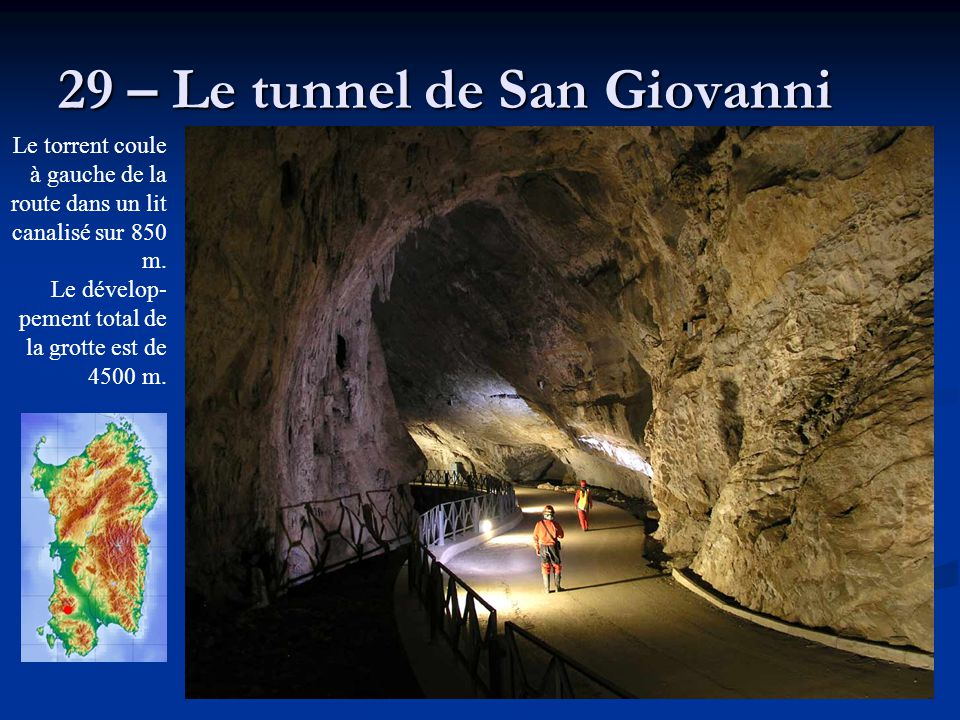 29 – Le tunnel de San Giovanni