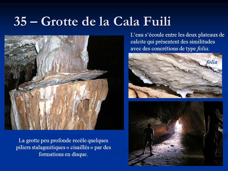 35 – Grotte de la Cala Fuili