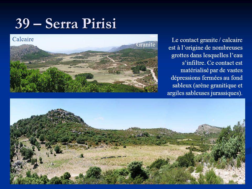39 – Serra Pirisi Calcaire