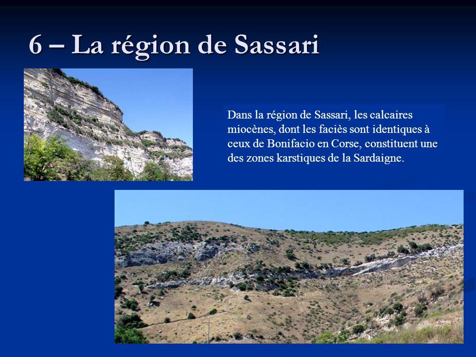 6 – La région de Sassari