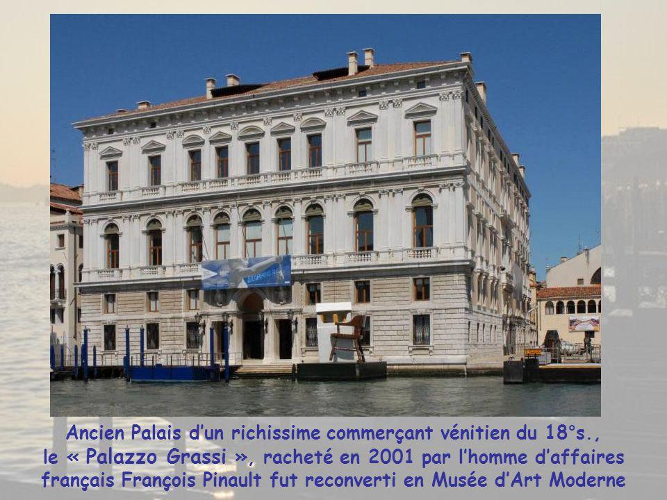 Ancien Palais d'un richissime commerçant vénitien du 18°s