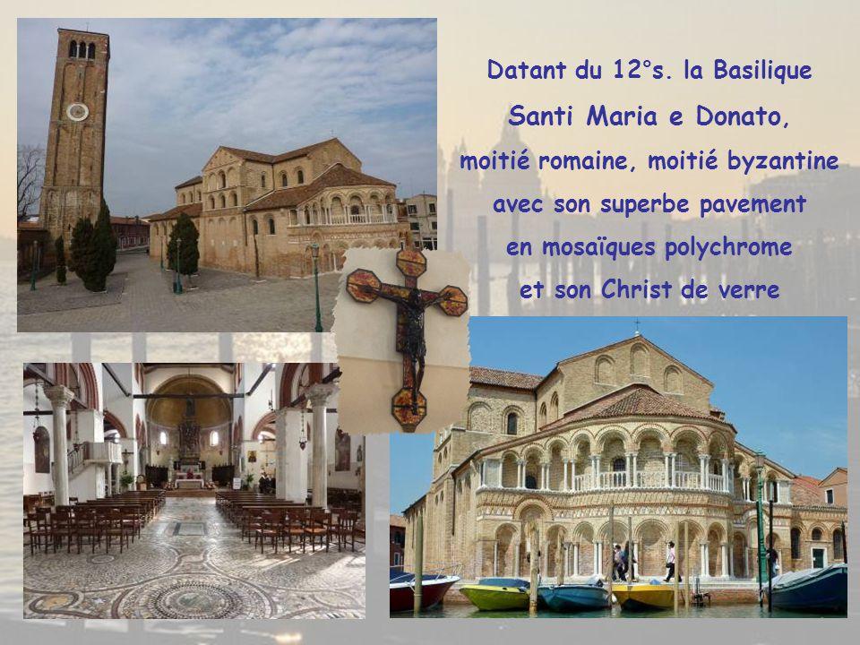 Santi Maria e Donato, Datant du 12°s. la Basilique