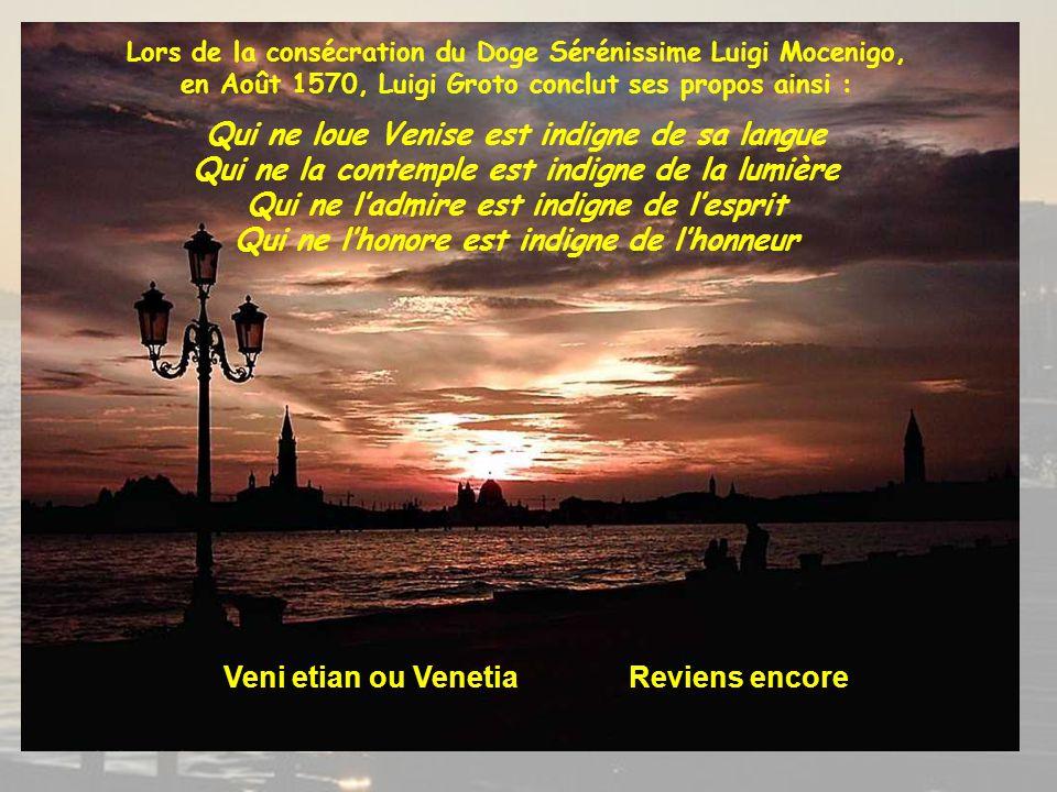 Veni etian ou Venetia Reviens encore