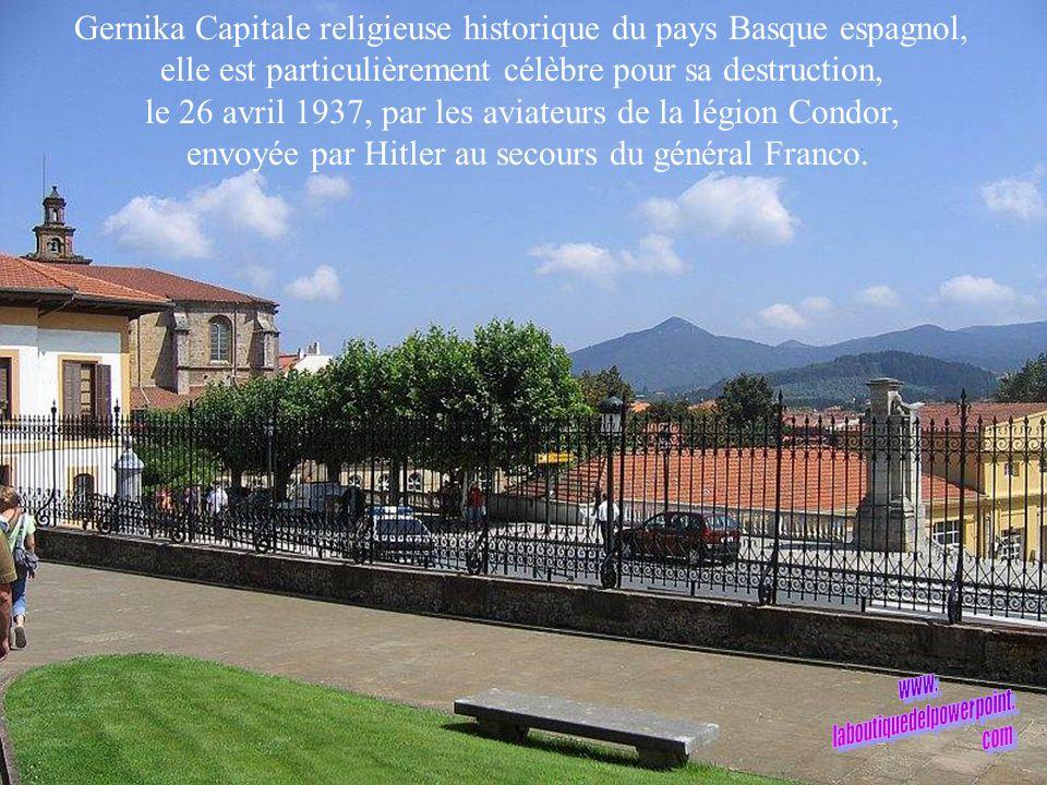 Gernika Capitale religieuse historique du pays Basque espagnol,