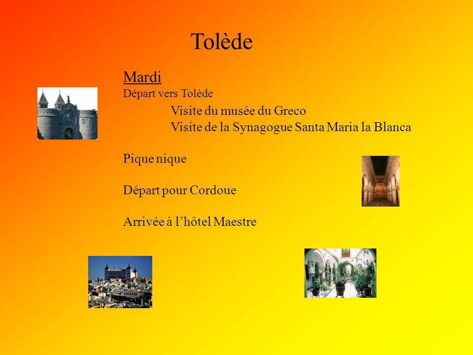 Tolède Mardi Visite du musée du Greco