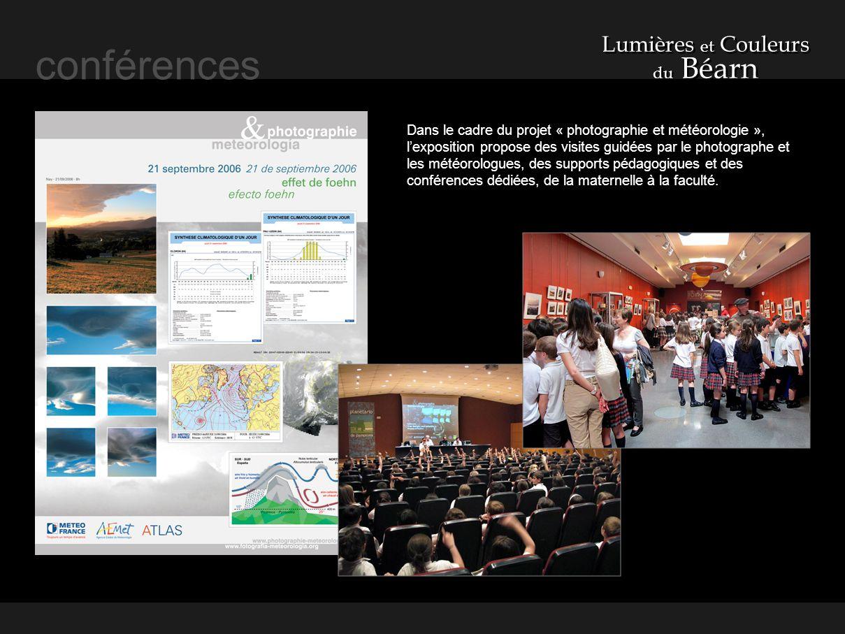 conférences Lumières et Couleurs du Béarn