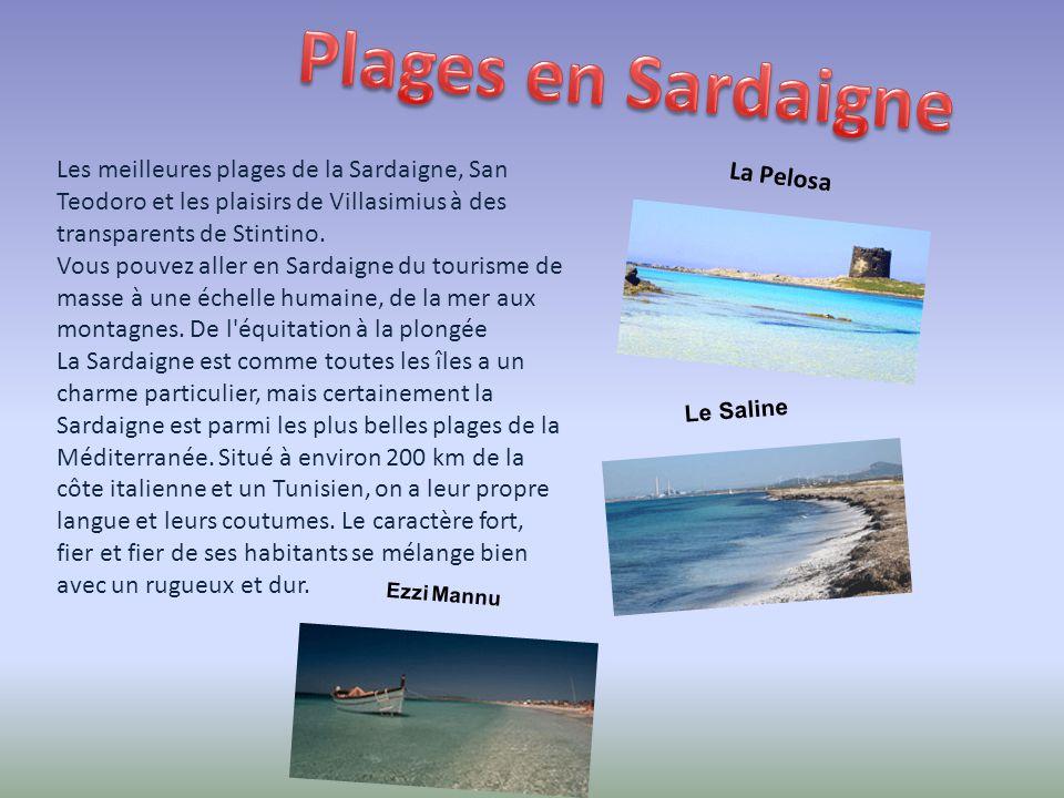 Plages en Sardaigne