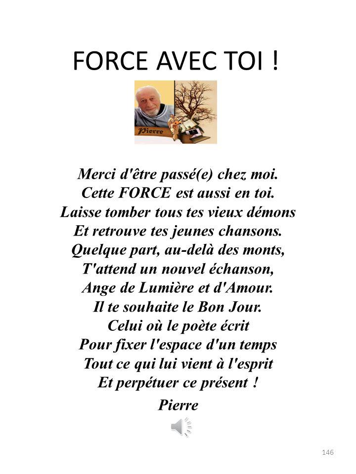 FORCE AVEC TOI !